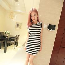 小飞家2013秋季必备超超超修身显瘦 无袖 性感 包身裙 价格:65.00