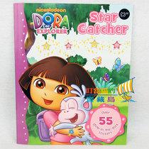 朵拉英文练习册Nickelodeon Dora 摘星探险 含55张贴纸.3 价格:18.00