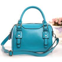 女包2013新款波士顿枕头包真皮水桶包牛皮手提包单肩包斜跨包包邮 价格:187.20