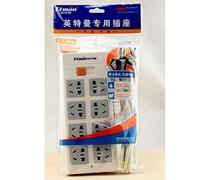 英特曼八位带开关插座 JR28018 3米批发 价格:38.30
