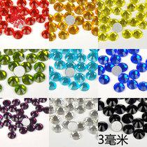 手机壳diy材料包国贸A钻玻璃钻3mm 水钻批发手机美容贴钻套餐美甲 价格:1.90