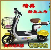 糖果电动车甜美上市14寸高米迪迷你滑板车休闲电动自行车PK爱玛 价格:2120.00