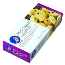 新西兰进口spinnaker品尼加迷你椰丝加仑子曲奇酥饼干136g零食 价格:17.80