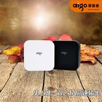 正品爱国者大容量移动电源10000毫安4s三星S4苹果5手机通用充电宝 价格:198.00