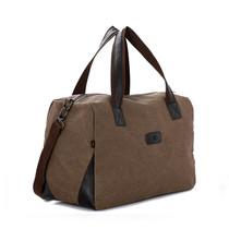 新款男士手提包旅行包复古帆布包韩版潮包休闲男包单肩背包斜挎包 价格:55.00