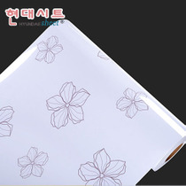 韩国自粘墙纸烤漆高光家具翻新贴纸衣柜 加厚防水冰箱橱柜翻新贴 价格:32.00