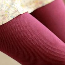 天鹅绒打底袜新款螺旋斜纹显瘦高弹不透肉女袜子打底连裤袜子丝袜 价格:19.88