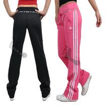 特价 秋季新品阿迪经典女士显瘦提臀瑜伽裤网球排球运动休闲长裤 价格:50.00