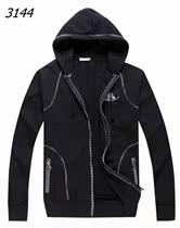 专柜款2013秋冬季新款ck长袖卫衣男CalvinKlein男装连帽外套 价格:958.00
