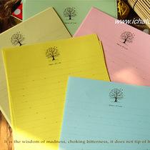 ●满40包邮●Inpaper 彩色信纸 爱的季节 8张入 五色选浪漫简约风 价格:3.20