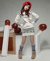 韩版秋冬装女装 小鹿修身圆领毛衣 价格:199.00