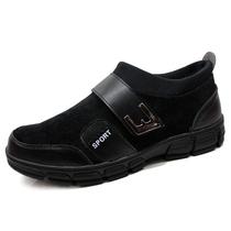 高档老北京布鞋男款棉鞋 条绒高帮加厚软底长毛保暖男鞋送礼首选 价格:79.00