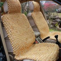 包邮 汽车坐垫夏季新款 天然香木红木桧木珠四季垫 珠子汽车座垫 价格:658.00
