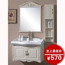 欧式浴室柜PVC/橡木卫浴柜浴室柜洗脸盆柜 特价洗手盆柜组合 6065 价格:570.60