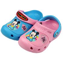 正品Disney/迪士尼儿童花园鞋洞洞鞋宝宝夏季男童凉鞋女童凉拖鞋 价格:20.90