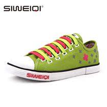 思威琪 夏季2013个性拼色鞋带低帮帆布鞋女 韩版潮学生休闲鞋板鞋 价格:79.00
