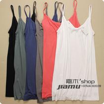 日单2013夏季新款正品女士莫代尔小吊带背心 纯色百搭薄款打底衫 价格:39.00
