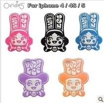 新款小丑 iphone5 苹果4/4S手机壳硅胶套可爱BUDDY LEE保护套情侣 价格:15.00