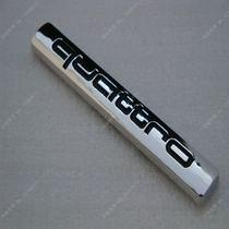 奥迪车标 A4L Q5 A6L A8 四驱标 Quattro 后备箱贴标 改装标 价格:12.00