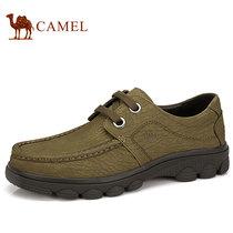 camel骆驼男鞋 流行休闲鞋潮男鞋 男士运动鞋休闲鞋韩版 真皮男鞋 价格:354.73