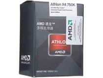 AMD Athlon II X4 750K 速龙四核中文原包盒装FM2 CPU 3.4G 秒740 价格:419.00