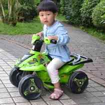 新款BEN10陆地巡洋舰 儿童四轮电动摩托车 可坐玩具车宝宝电瓶车 价格:433.00