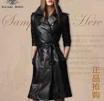 2013秋装新款女式皮风衣外套中长款修身pu皮衣大码欧美韩版皮风衣 价格:298.00