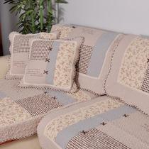 特价蝴蝶田园结沙发垫坐垫布艺防滑夏 沙发套 外贸绗缝全棉沙发巾 价格:19.80