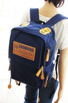 2013夏季新款韩版双肩包背包书包帆布包电脑包 A199 价格:69.00