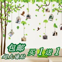 特价包邮 特大客厅卧室相片框电视背景墙贴纸记忆照片树墙贴纸 价格:28.00