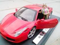 GUILOY 1:24法拉利Ferrari恩佐F458合金汽车模型ENZO轿跑 包邮 价格:69.00