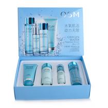 包邮专柜正品 OSM欧诗漫水氧活能优悦美肌礼盒 补水保湿套装 价格:130.00