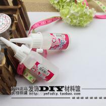 Diy手工必备工具 不织布布料 专用胶水 酒精胶 保丽龙胶 宝利龙胶 价格:2.50