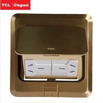 TCL/罗格朗开关插座地插座 全铜 六孔地插 正品 特价(不含底盒) 价格:125.00