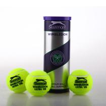 顶级比赛用网球 专柜正品Slazenger 史莱辛格网球 紫铁罐3只装 价格:33.00