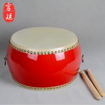 儿童乐器 7寸扁鼓/小堂鼓/红鼓/小鼓/牛皮鼓|活动庆典鼓 配鼓棒 价格:45.00