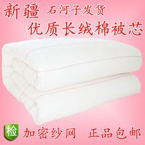 新疆长绒棉被11-14斤 棉絮棉胎棉花被子冬被单双人床褥垫加厚包邮 价格:246.00