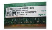 宇瞻(apacer) 经典 DDR2 800 2G 台式机内存 价格:175.00