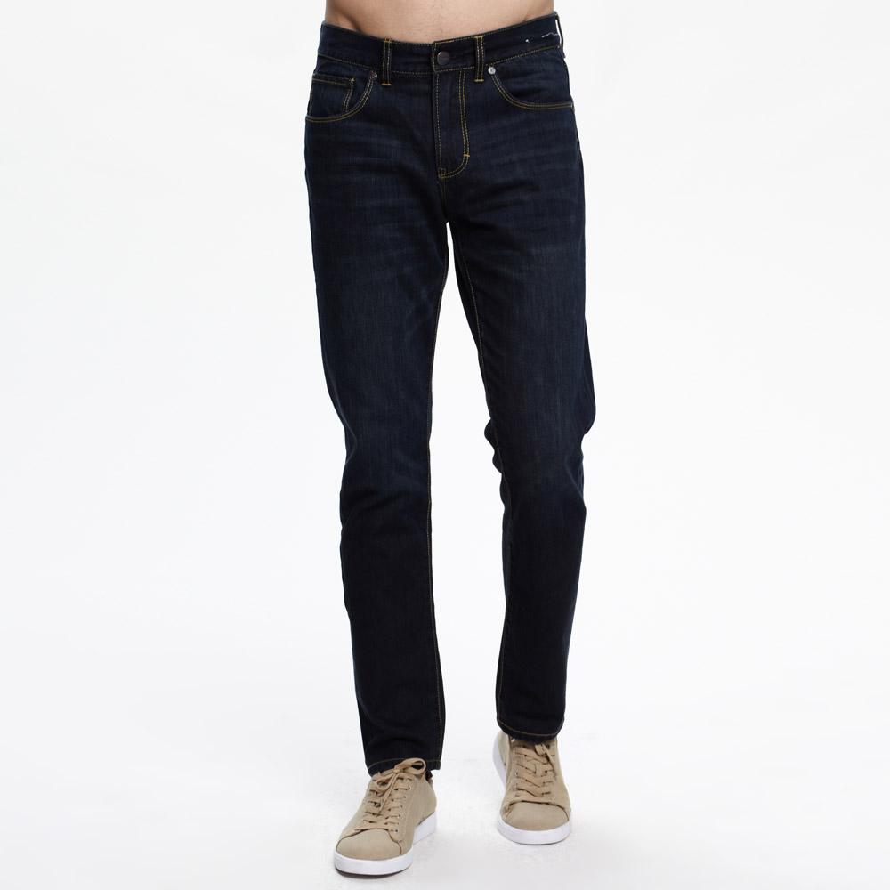 美特斯邦威男都市经典蓝色牛仔裤257170原价239 价格:120.00