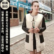 2013秋冬新款 韩版中长款羊羔毛圆领海宁皮衣 皮毛一体真皮外套女 价格:1680.00