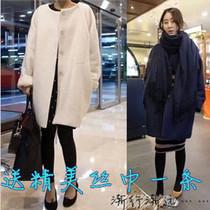 韩剧想你尹恩惠同款大衣 女装韩版中长款宽松羊毛呢大衣呢子外套 价格:175.00