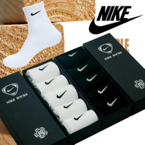 包邮Nike耐克袜子男袜纯棉男士运动�|薄款男士中筒篮球袜 礼盒 价格:33.00