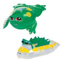【BESTWAY】宝宝洗澡小玩具两件组:动物造型充气玩具34030海龟 价格:29.00
