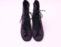2013韩国订单拉链露趾鱼嘴粗跟高跟木底罗马凉鞋夏季2013年人造革 价格:80.00
