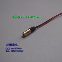 超小Φ4mm,1mW650nm红光激光模组 微型激光头 点状定位灯 价格:13.00