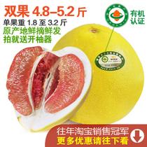 四季果缘 有机红心柚子蜜柚福建平和�g溪红肉柚新鲜水果团购包邮 价格:88.00