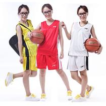 正品沃特女款篮球服白色红色黄色比赛服运动训练服5套起免印号字 价格:69.00