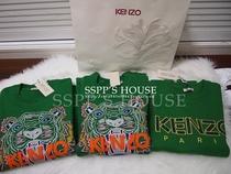 [限促]法国正品代购KENZO虎头老虎刺绣男女情侣拉绒卫衣外套 价格:1235.32