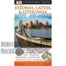 正版书★Estonia, Latvia & Lithuania/DK Eyewitness Travel G 价格:108.00