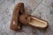 出口挪威    唐卡羊毛豆豆鞋迷你  包子鞋 价格:205.00